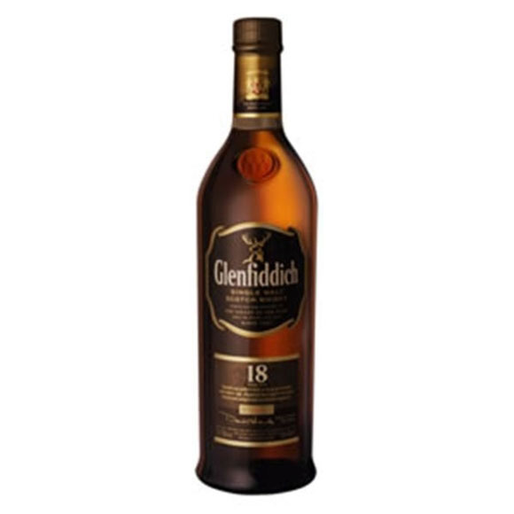 Glenfiddich 18 Year Old Ancient Reserve Whisky BOTTLE | Whiskies