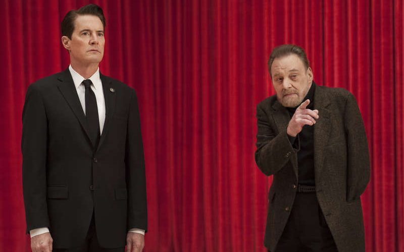 Twin Peaks 2017 Kyle MacLachlan and Al Strobel in a still from Twin Peaks