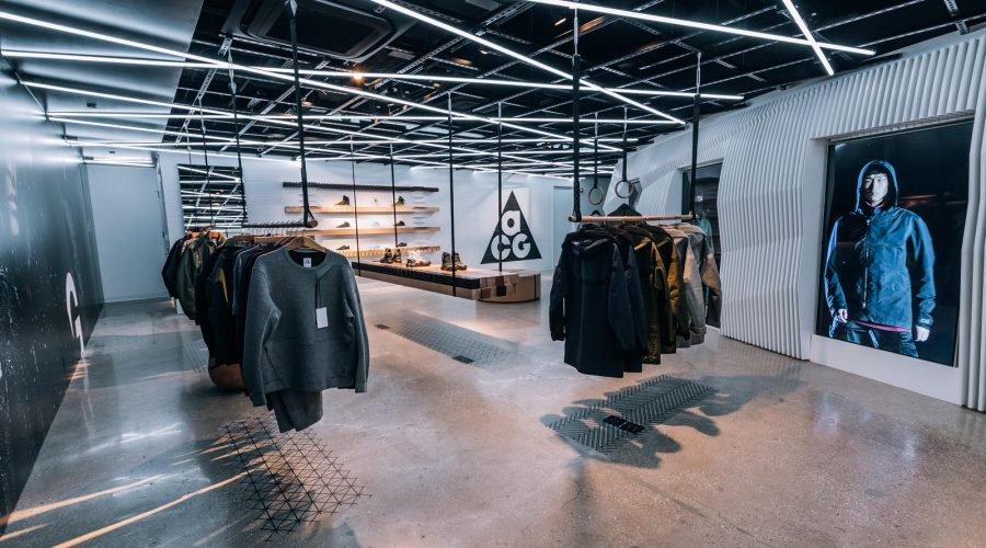 NikeLab Chicago : The Launch Of ACG Clothing Footwear And Accessories – Nike ACG Shop Interior | SEIKK Magazine