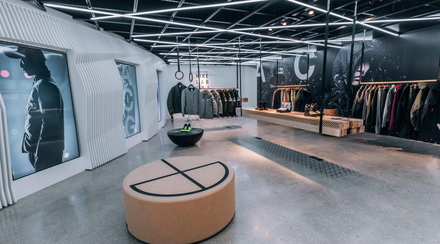 NikeLab Chicago : The Launch Of ACG Clothing Footwear And Accessories – Nike ACG Shop Seating | SEIKK Magazine
