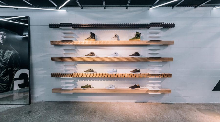 NikeLab Chicago : The Launch Of ACG Clothing Shoes And Accessories – Nike ACG Sneaker Wall | SEIKK Magazine