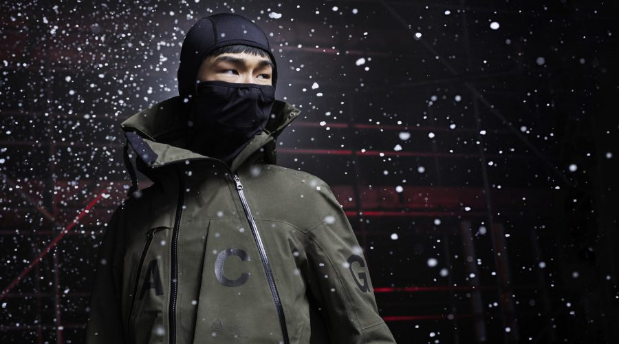 NikeLab Chicago : The Launch Of ACG Clothing – Holiday Mens Nike ACG Jacket In Green | SEIKK Magazine
