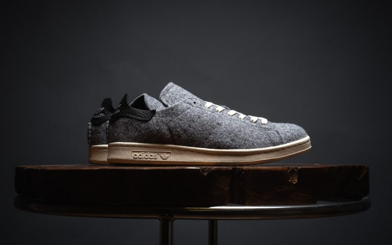 Adidas Gets 'Stan' Woolly – Classic Stan Smith trainers in Grey Wool | SEIKK Magazine