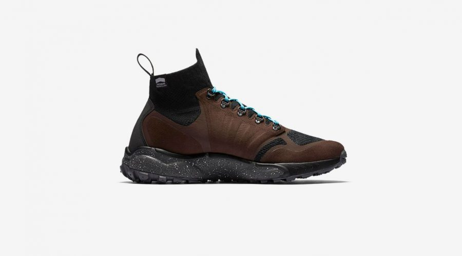 Nike Air Zoom Talaria Mid Flyknit Sneakers Review – Nike Shoes in Baroque Brown Side View   SEIKK Magazine