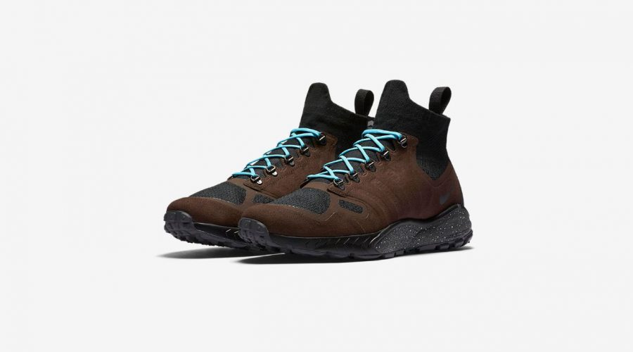Nike Air Zoom Talaria Mid Flyknit Sneakers Review – Nike Shoes in Baroque Brown Front View   SEIKK Magazine