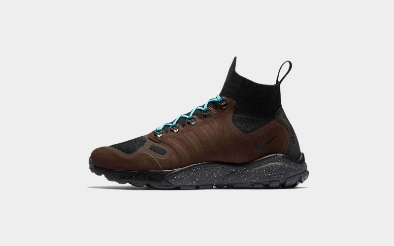 Nike Air Zoom Talaria Mid Flyknit Sneakers Review – Nike Shoes in Baroque Brown Side | SEIKK Magazine