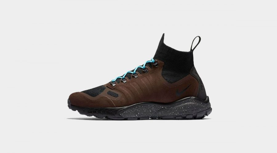 Nike Air Zoom Talaria Mid Flyknit Sneakers Review – Nike Shoes in Baroque Brown Side   SEIKK Magazine