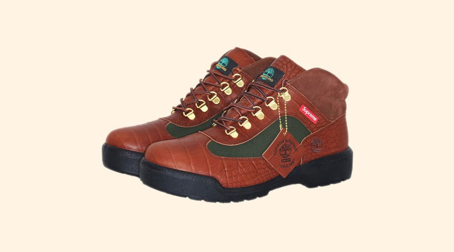 Supreme X Timberland Field Boot Collection hiking boots | SEIKK Magazine