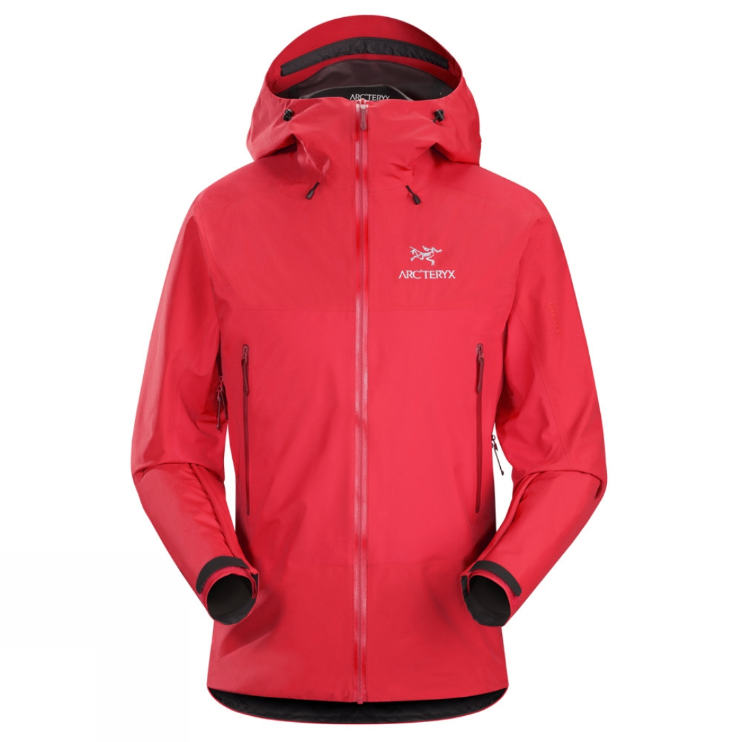 ARCTERYX MENS-BETA -SL-HYBRID-JACKET-red