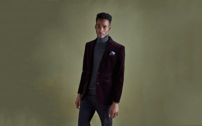 purple power mens purple trend report 2017 purple jacket john lewis male black model