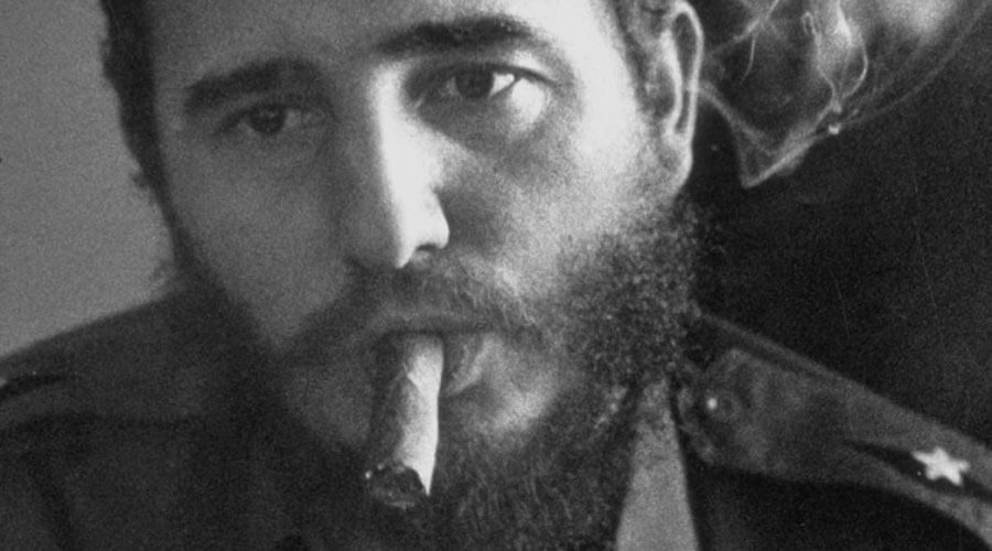 Remembering A Bearded Cuban Revolutionary Review – Cuban President Fidel Castro Smoking Cigar | SEIKK Magazine
