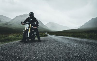 The Great Mile And Beyond - Motorcycle Rally Bike Rider In Scotland | SEIKK Magazine