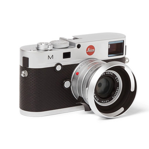Leica Cameras UK Leica M240 Camera Black and silver retro camera