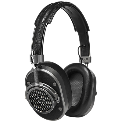Master & Dynamic MH40 Headphones with Mic/Remote for iOS in black and sliver