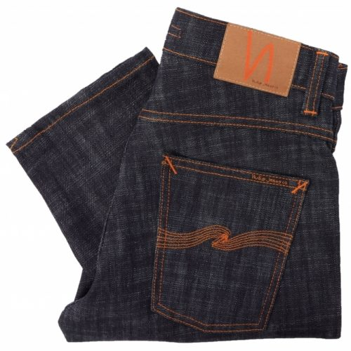 Nudie Grim Tim Denim Jeans Indigo wash for men UK