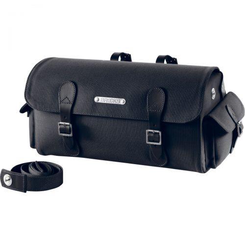 Mens Brooks England Glenbrook Saddle Bag in Black