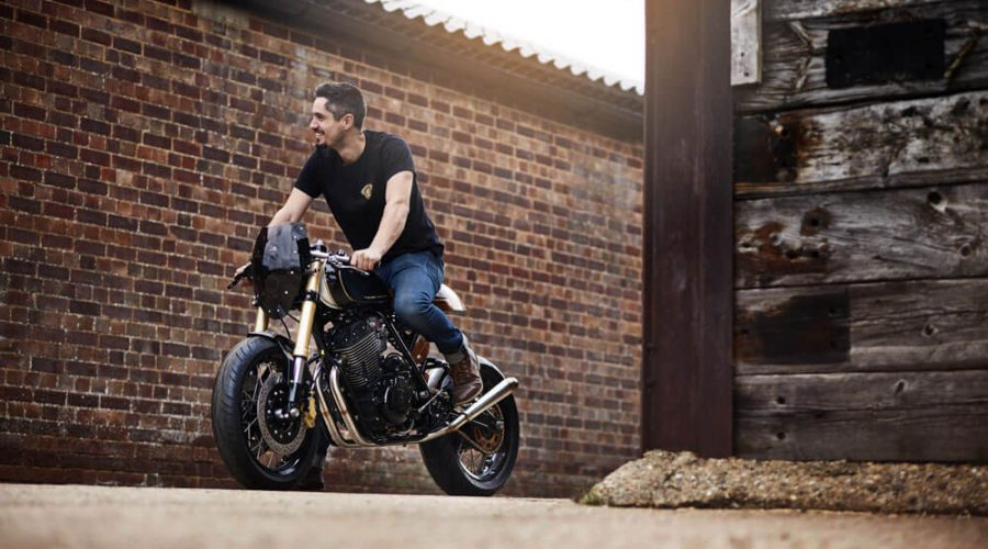 Lions Den Motorcycles Dirt Racer Custom Cafe Racer Bike UK Motorcycle Rider | SEIKK Magazine