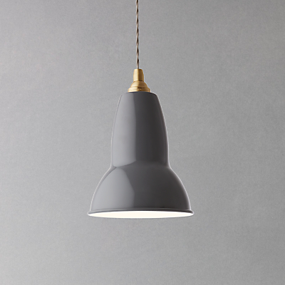 Anglepoise Original 1227 Brass Ceiling Light, Elephant Grey