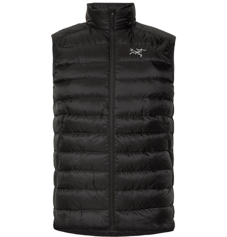 Arc'teryx - Cerium Lt Quilted Shell Down Gilet - Black