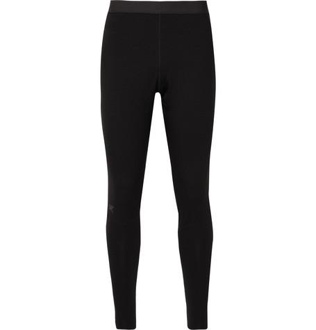 Arc'teryx - Satoro Ar Wool-blend Nucliex Base Layer Tights - Black