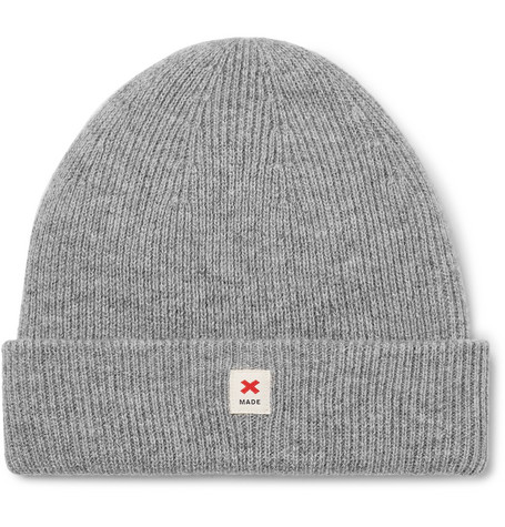 Best Made Company - Cap Of Courage Ribbed Merino Wool Beanie - Gray