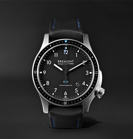 Bremont - Model 1 Ss/bk Automatic Chronometer 43mm Stainless Steel Watch - Black