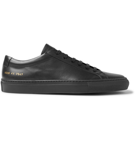 Common Projects - Original Achilles Leather Sneakers - Black