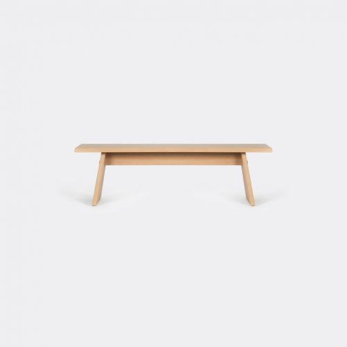 Cruso Furniture - 'June' bench in Natural Solid Oak