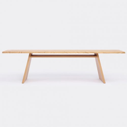Mens Cruso June Large Table in Natural Solid Oak