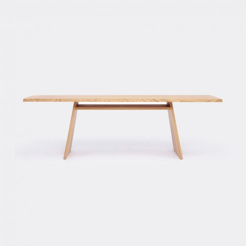 Cruso Furniture - 'June' table in Natural Solid Oak