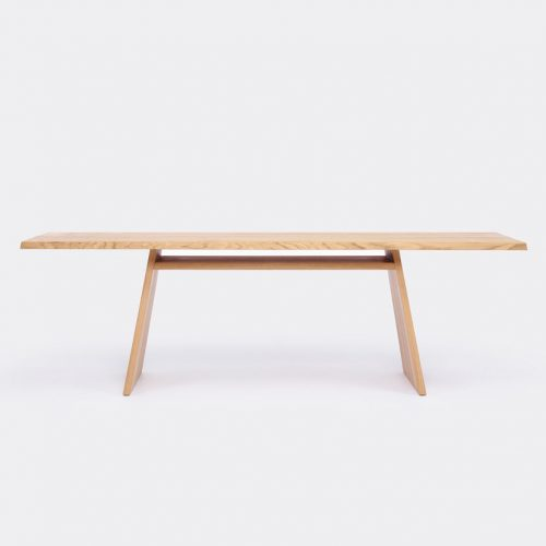 Mens Cruso June Table in Natural Solid Oak