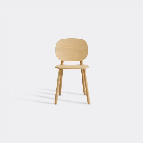 Cruso Furniture - 'Paddle' chair in Natural Solid ash