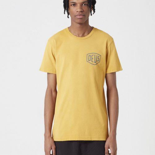 Deus Ex Machina Sunbleached Tokyo T-shirt - Gold