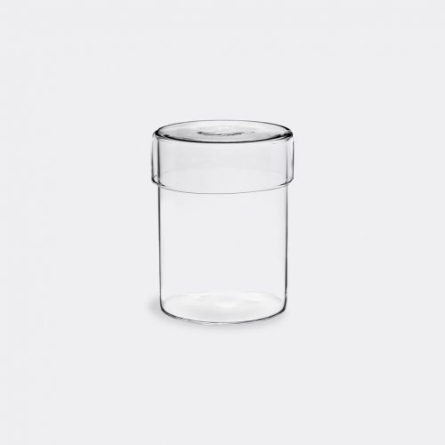 Kinto Beauty & Grooming - 'Schale' glass case, large in Clear Glass