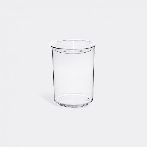 Kinto Kitchen & Tools - 'Cast' canister in Transparent Heat-resistant glass, silicone