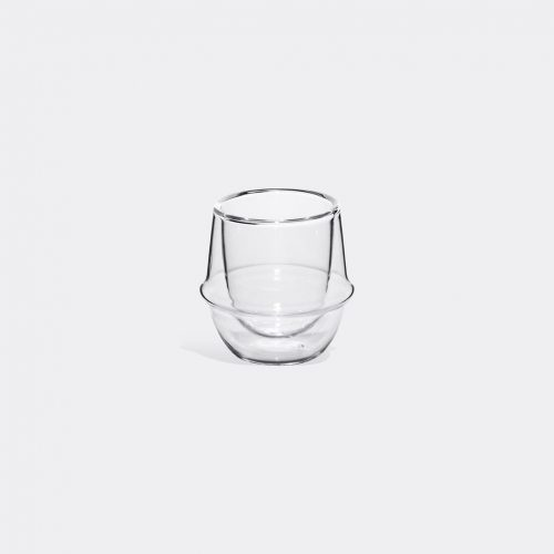 Kinto - 'Kronos' espresso cup in Transparent Heat-resistant glass