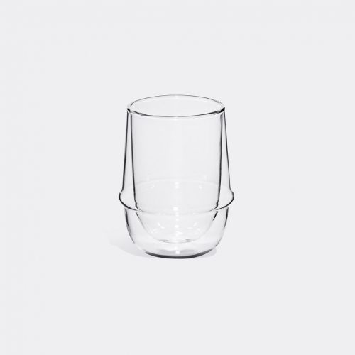 Kinto - 'Kronos' iced tea glass in Transparent Heat-resistant glass
