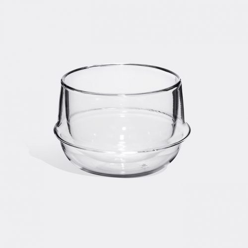 Mens Kinto Kronos Teacup in Heat-resistant Glass
