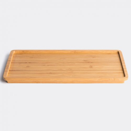 Kinto Serving & Trays - 'LT' tray in Brown Wood