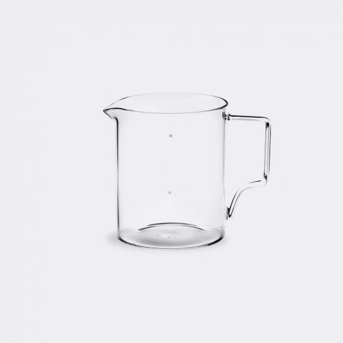 Kinto Tea & Coffee - 'OCT' coffee jug, large in White Glass
