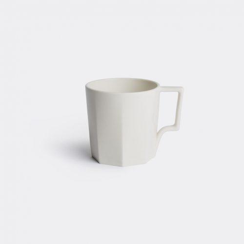 Kinto Tea & Coffee - 'OCT' mug in White Porcelain
