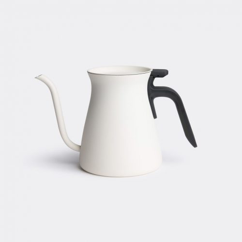 Kinto Tea & Coffee - 'Pour Over' kettle in White Stainless steel, plastic