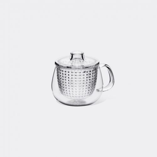 Kinto Tea & Coffee - 'Unimug' in Transparent Heat-resistant glass, copolyes