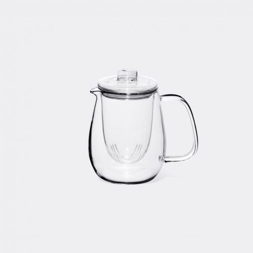 Kinto Tea & Coffee - 'Unitea' teapot set in Transparent Heat-resistant glass