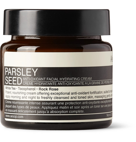 Aesop - Parsley Seed Anti-oxidant Facial Hydrating Cream, 60ml - Colorless