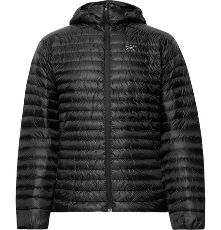 Arc'teryx - Cerium Sl Packable Quilted Shell Hooded Down Jacket - Black
