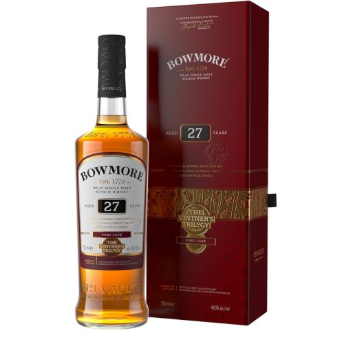 Bowmore 27 Year Old Vintner's Trilogy Single Malt Scotch Whisky