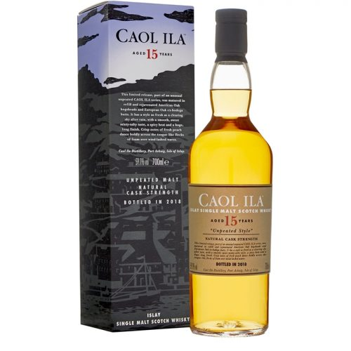 Caol Ila 15 Year Old Unpeated Single Malt Scotch Whisky Special Release 2018
