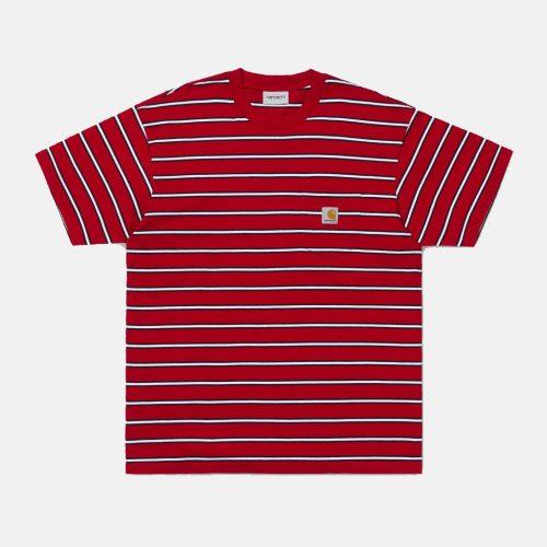 Carhartt Houston Pocket T-Shirt - Cardinal Red
