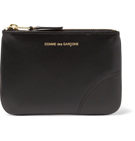 Comme des Garçons - Leather Coin Wallet - Black